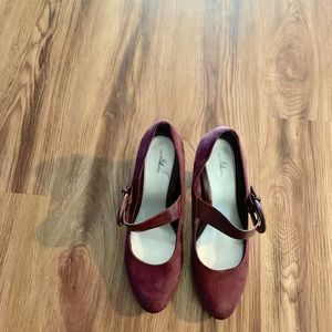 Burgundy Shoes!